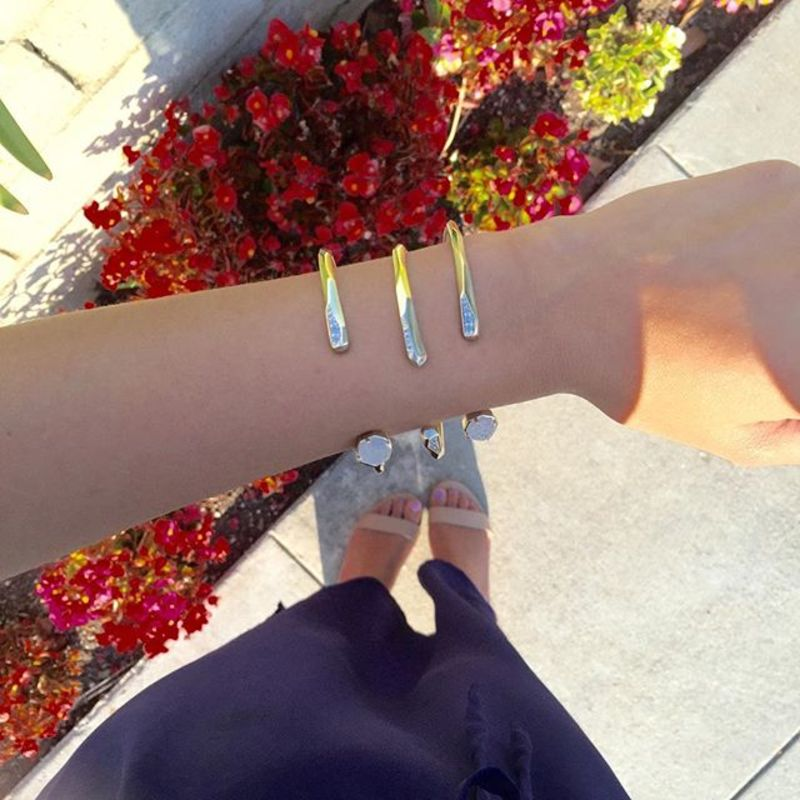 User Generated Content for Kendra Scott Blake Bangle Set in Gold
