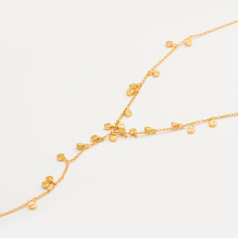 User Generated Content for Gorjana Chloe Mini Lariat in Gold