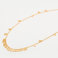 User Generated Content for Gorjana Chloe Mini Long Necklace in Gold