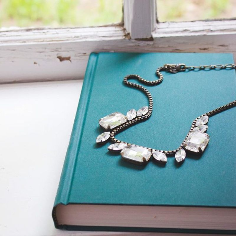 User Generated Content for Loren Hope Blythe Necklace in Crystal