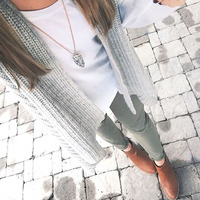 User Generated Content for Kendra Scott Kimmy Necklace in Gray Granite