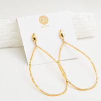 User Generated Content for Gorjana Lola Drop Hoops
