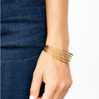 User Generated Content for Gorjana Carine Cuff in Gold
