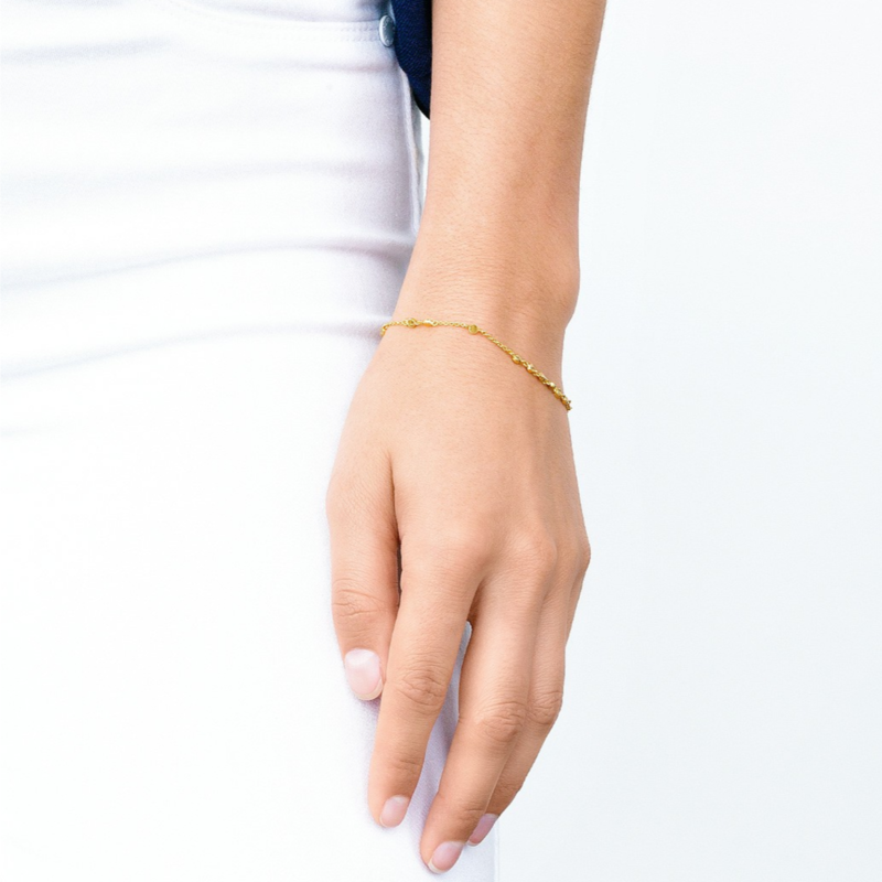 User Generated Content for Gorjana Chloe Mini Bracelet in Gold