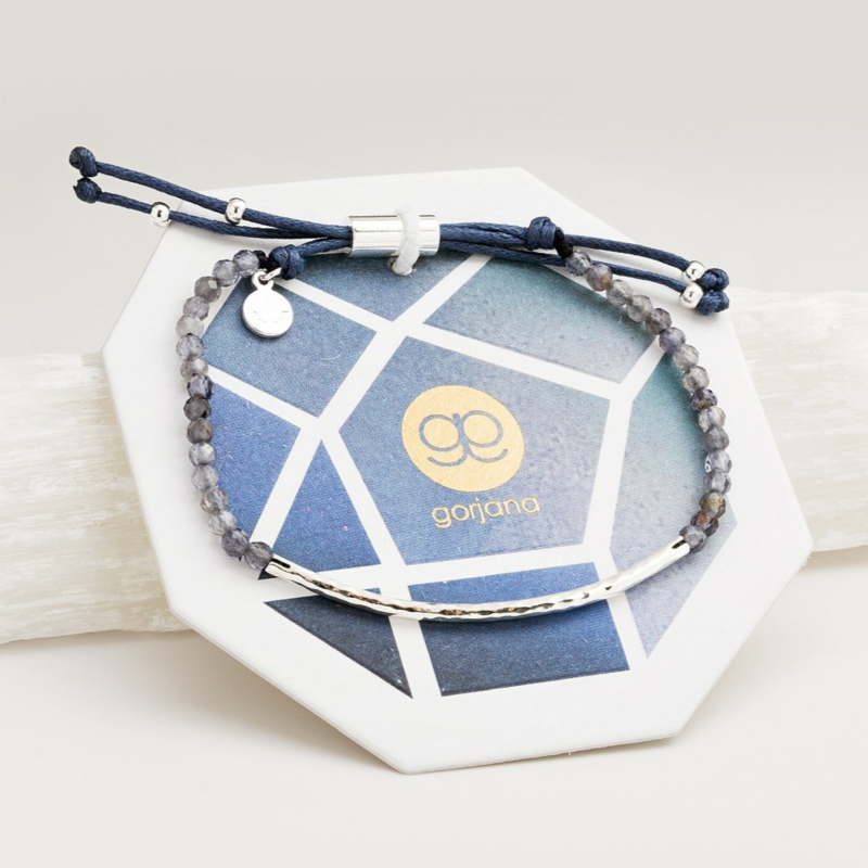 User Generated Content for Gorjana Power Gemstone Bracelet in Iolite and Silver
