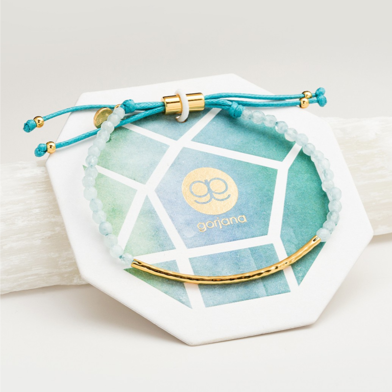 User Generated Content for Gorjana Power Gemstone Bracelet in Aquamarine