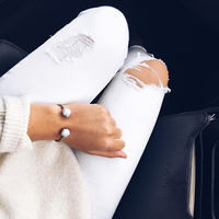 User Generated Content for Kendra Scott Brinkley Bracelet in White Banded Agate