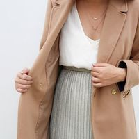 User Generated Content for Sophie Harper Pavé Layered Crescent Necklace
