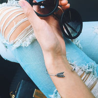 User Generated Content for House of Harlow 1960 Arrow Affair Cuff in Silver