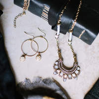 User Generated Content for SLATE Druzy Drop Hoops