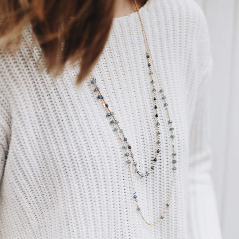 User Generated Content for Sophie Harper Nila Beaded Necklace