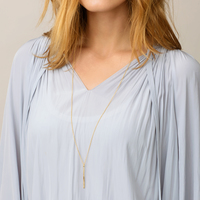 User Generated Content for Gorjana Kylie Bar Necklace