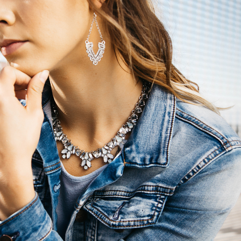 User Generated Content for Perry Street Tiana Crystal Necklace