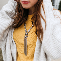 "User Generated Content for Perry Street Alessandra Statement ""Y"" Necklace"