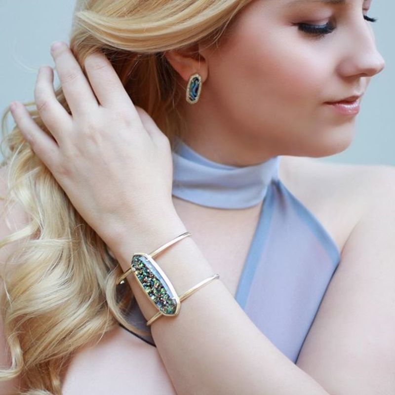 User Generated Content for Kendra Scott Lawson Cuff in Crushed Abalone