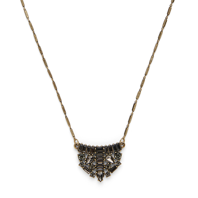 Perry Street Tori Crystal Pendant Necklace