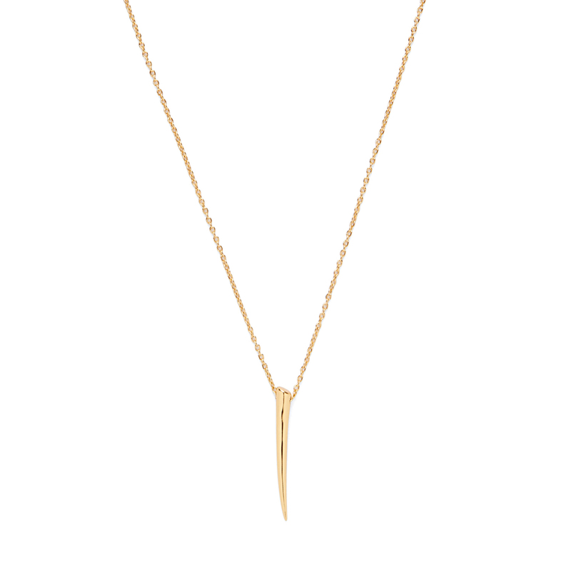 Gorjana Horn Charm Necklace