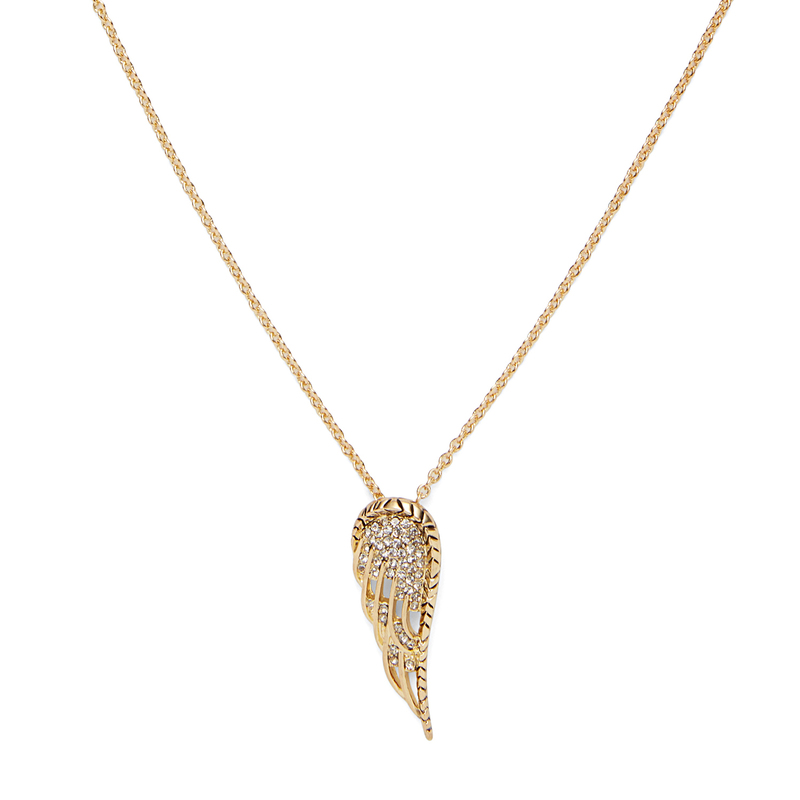 House of Harlow 1960 Aquila Wing Pendant Necklace in Gold