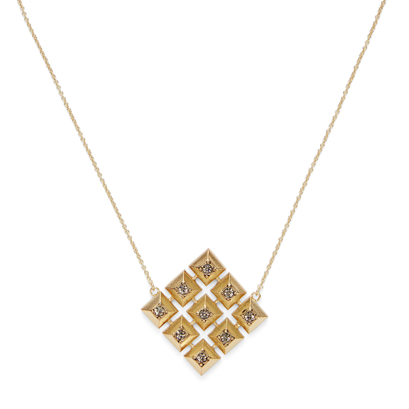 House of Harlow 1960 Lyra Pendant Necklace in Gold