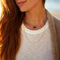User Generated Content for Gorjana Layer Bali Wrap Necklace in Silver