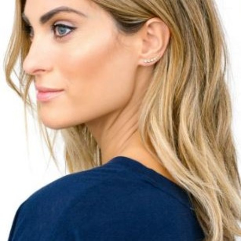 User Generated Content for Gorjana Candice Shimmer Ear Climbers