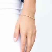 User Generated Content for Gorjana Shimmer Bar Bracelet in Rose Gold