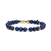 User Generated Content for Gorjana Power Gemstone Beaded Bracelet in Lapis and Gold