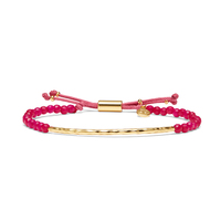 User Generated Content for Gorjana Power Gemstone Bracelet in Pink Jade and Gold