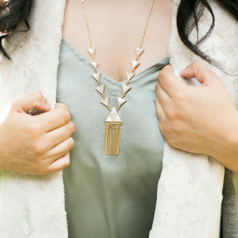 User Generated Content for Aster Freesia Pendant