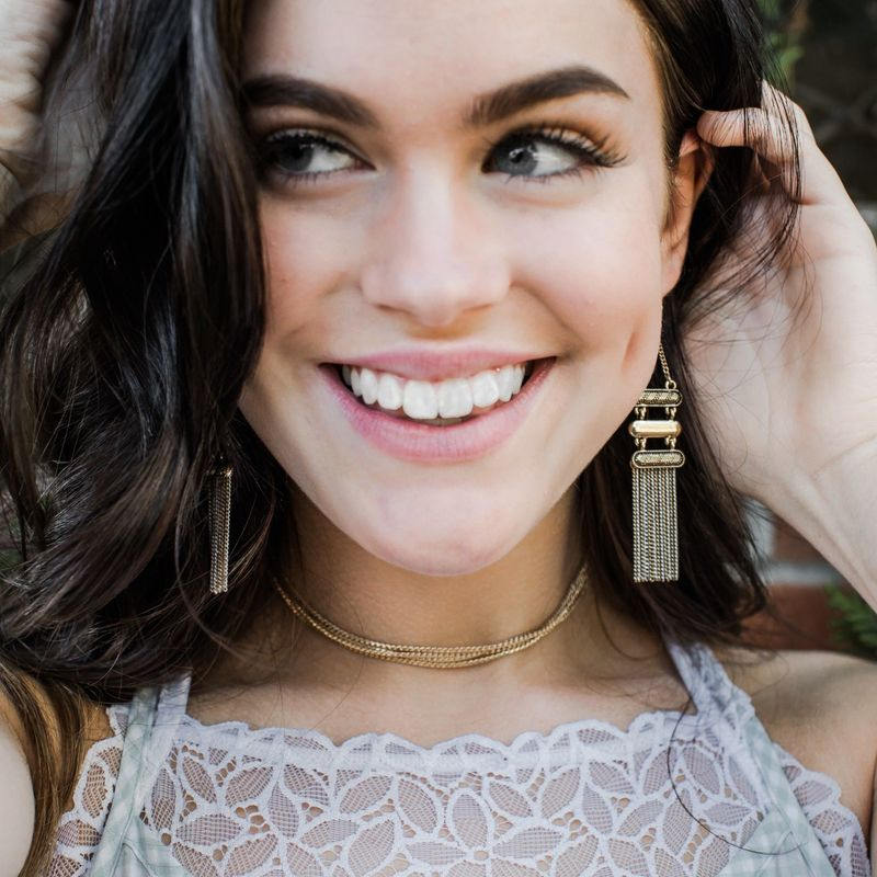 User Generated Content for Aster Quince Fringe Earrings