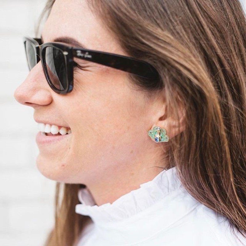 User Generated Content for Kate Spade Peacock Studs
