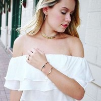 User Generated Content for Jenny Bird Raya Choker in Gold and Silver
