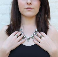User Generated Content for SLATE Odessa Necklace in Howlite