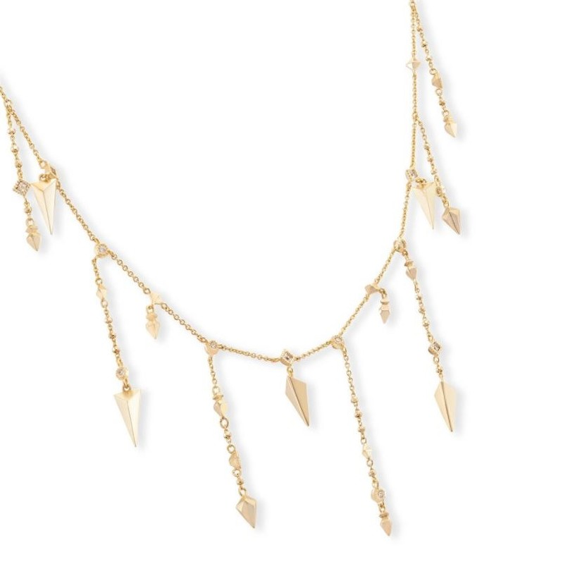User Generated Content for Kendra Scott Loralei Necklace in Gold