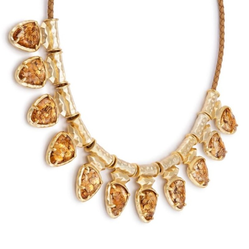 User Generated Content for Kendra Scott Willow Necklace in Crushed Gold