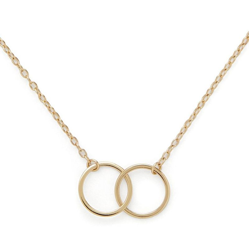 Sophie Harper Interlocking Circles Necklace