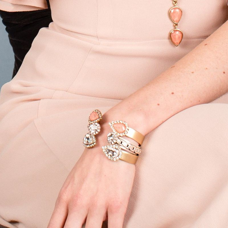 User Generated Content for Loren Hope Small Sara Cuff in Crystal