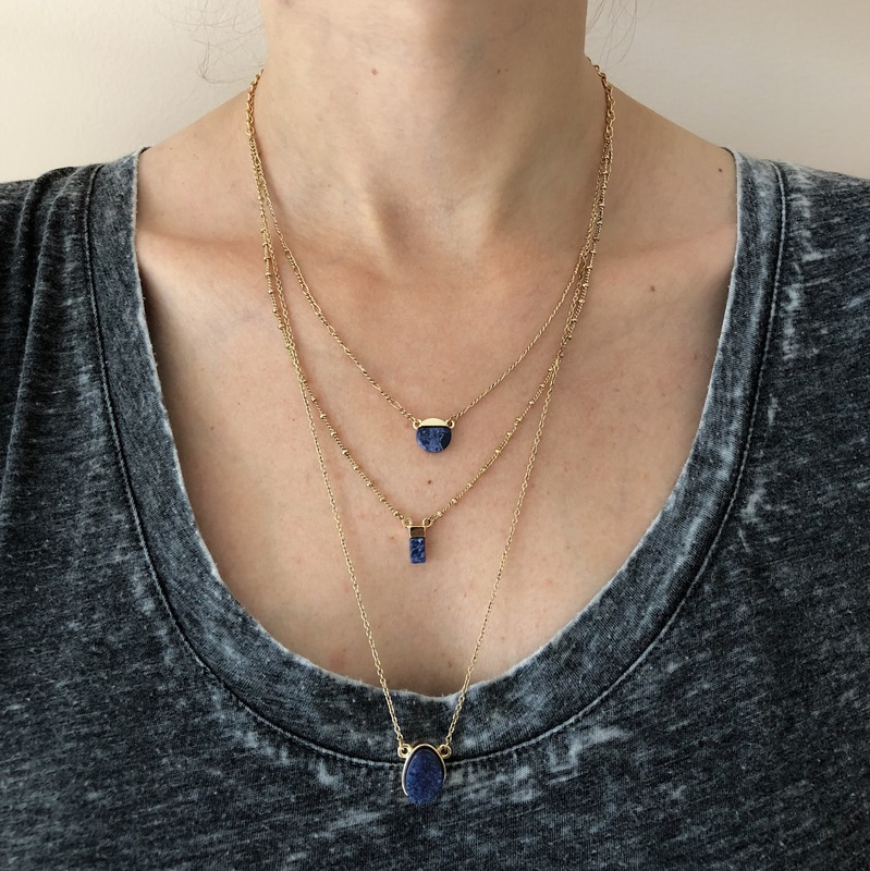 User Generated Content for SLATE Delilah Druzy Necklace