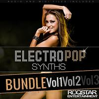 Electro Pop Synths Bundle 1-3