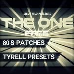 THE ONE: Free 80's Patches