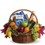 6711 - Fruits and Sweets Christmas Basket  - Lompoc, CA delivery.