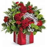 7134 - Gift Wrapped Bouquet - Santa Maria, CA delivery.