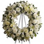 6915 - Serenity Wreath Lompoc, CA delivery.