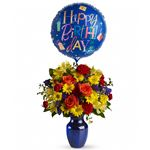 6272 - Fly Away Birthday Bouquet Santa Maria CA delivery.