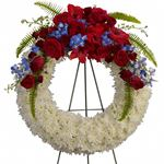 6761 - Reflections of Glory Wreath Lompoc, CA delivery.