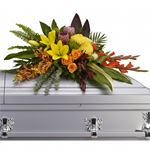 6836 - Island Memories Casket Spray Arroyo Grande, CA delivery.