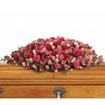 6845 - A Life Loved Casket Spray US and Canada delivery.