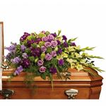 7296 - Reflections of Gratitude Casket Spray Santa Barbara, CA delivery.