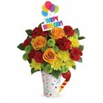 8149 - Fun and Festive Bouquet Santa Maria CA delivery.