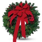 6440 - Classic Winter Wreath - Santa Maria, CA delivery.